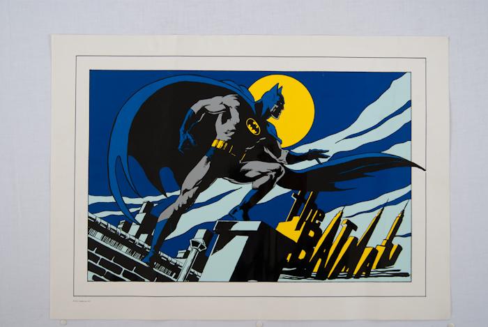 """Batman """"op dak van Gotham city""""-0"""