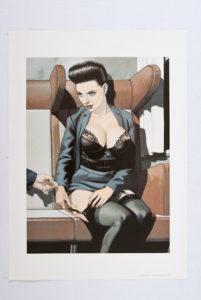 Beltran dame erotisch getekend-0