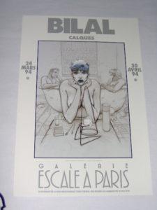 Bilal Calques In galerie Escale Parijs-0