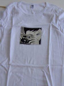 T-shirt Classic Girl Optical nerve-0