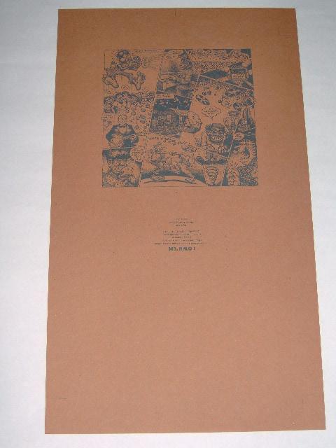 Robert Crumb drukproef van hoes/boek-0