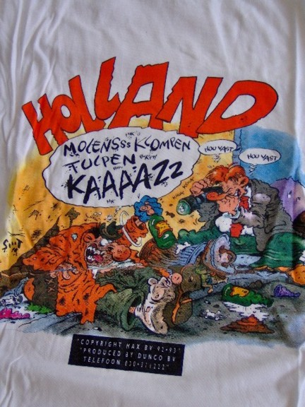 T-shirt Eric Schreurs Holland-0