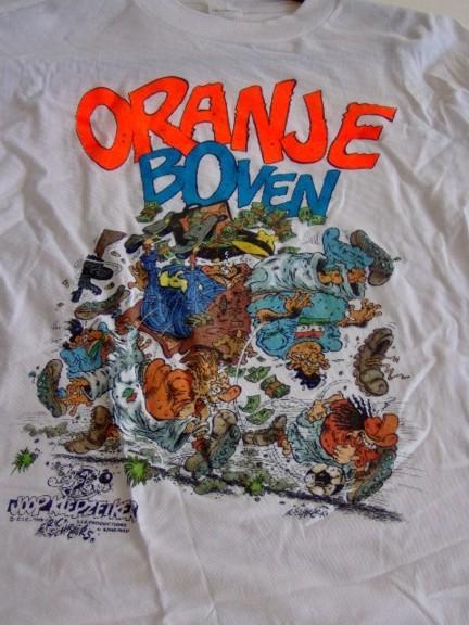 T-shirt Eric Schreurs Oranje-0