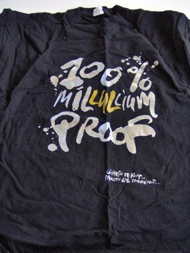 T-shirt Hein de Kort 100% Millullium proof-0