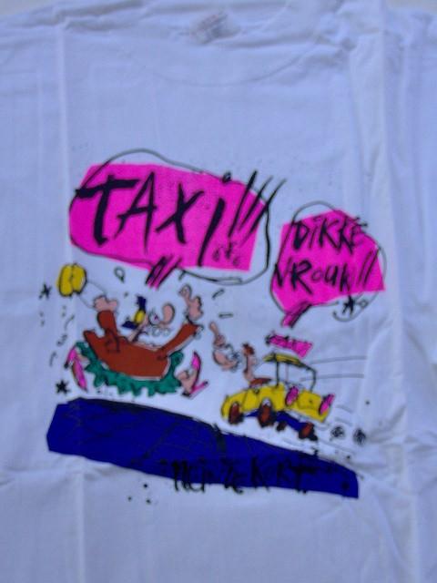T-shirt Hein de Kort Taxi Dikke vrouw-0
