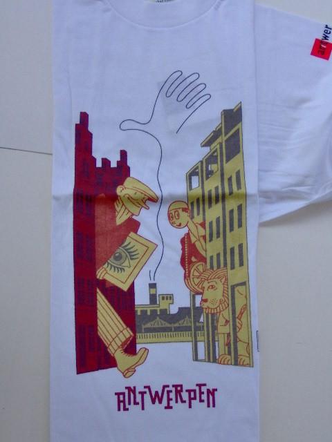 T-shirt Joost Swarte Antwerpen-0