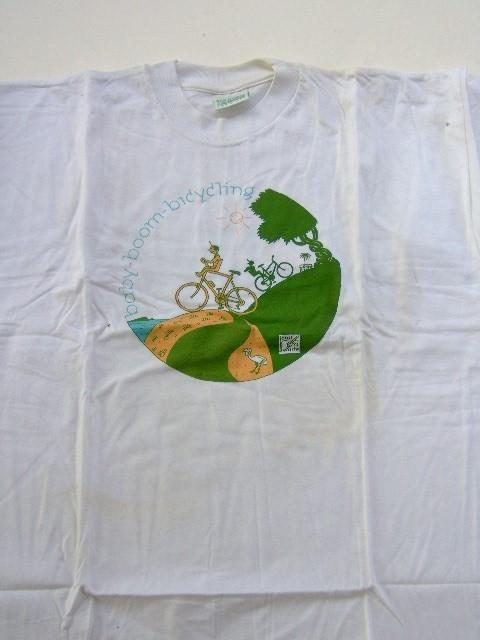 T-shirt Joost Swarte Babyboom biclycling-0