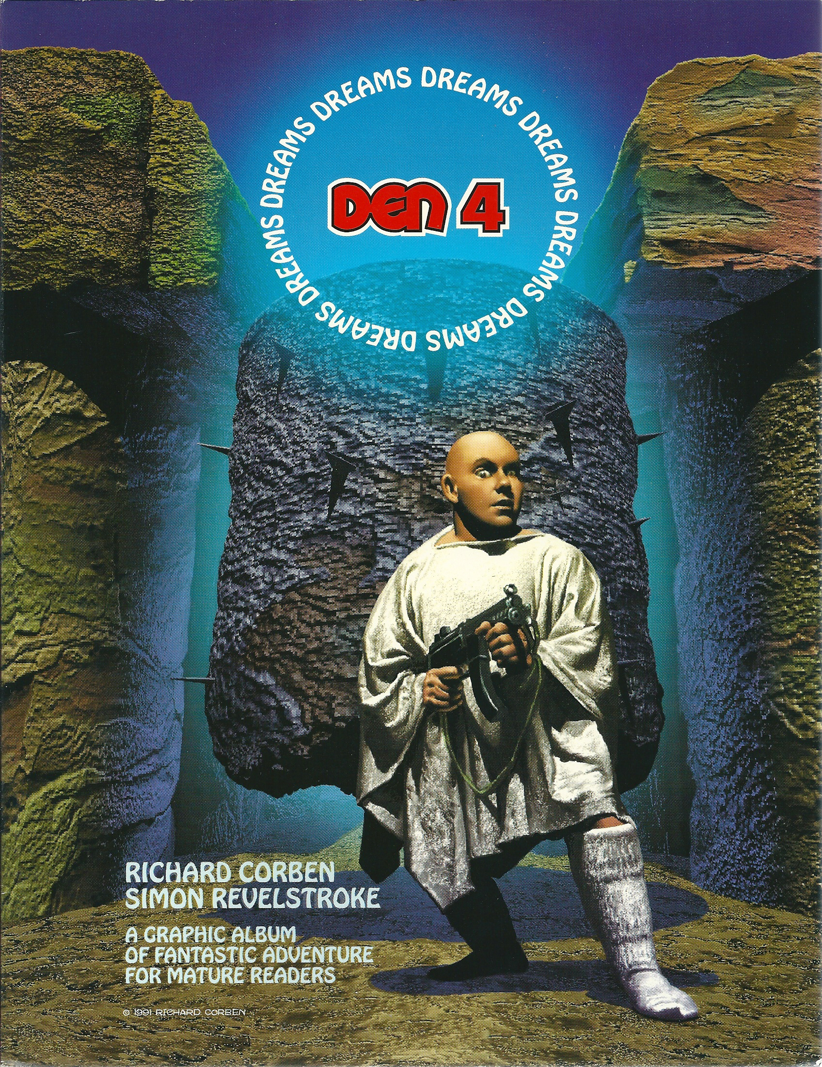 Den 4 Dreams van Richard Corben-0