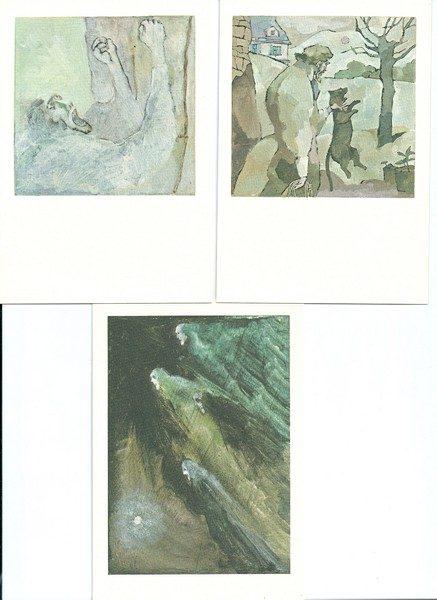 3 Kaarten van Alberto Breccia-0
