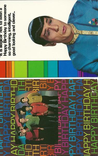 6 Kaarten Star Trek-0