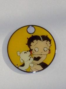 Sleutelring Betty Boop 1-0