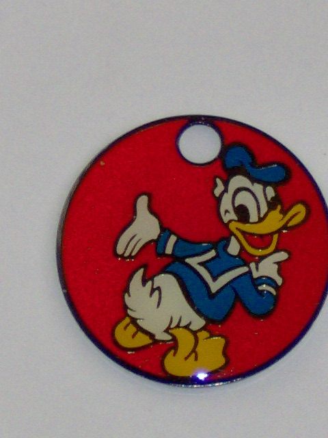 Sleutelring Disney 2 Donald Duck-0