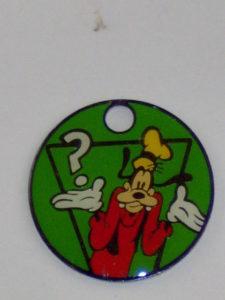 Sleutelring Disney Goofy 1-0