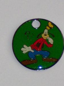 Sleutelring Disney Goofy 2-0