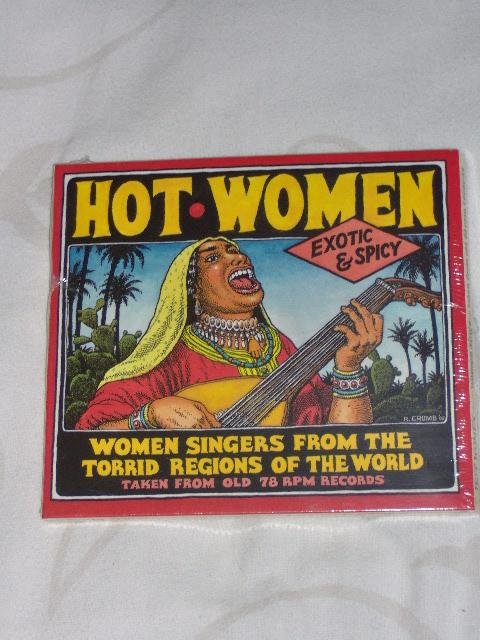 Robert Crumb CD Hot Women-0