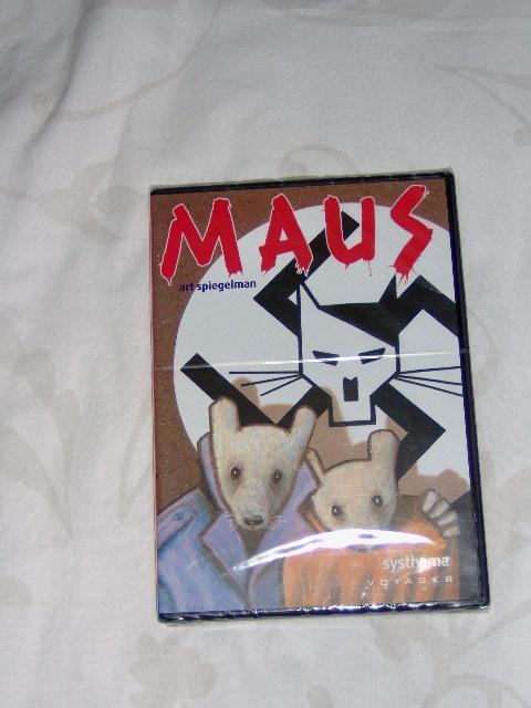 Maus DVD Art Spiegelman-0