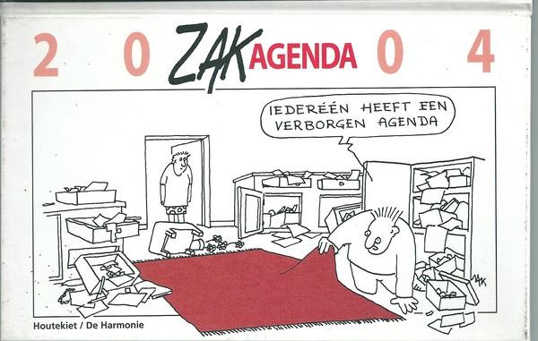 ZAK Jacques Moeraert Zakagenda 2004-0