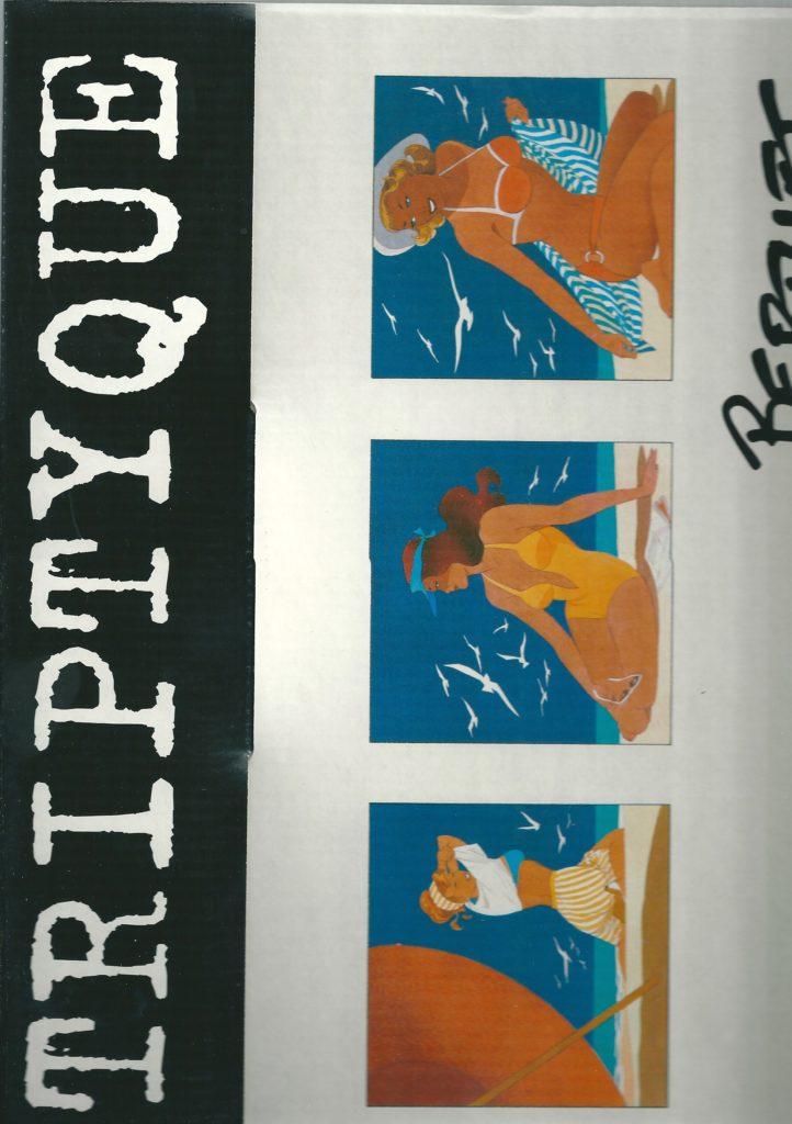 Berthet Triptyque 3 zeefdrukjes Gesigneerd/genummerd-4147