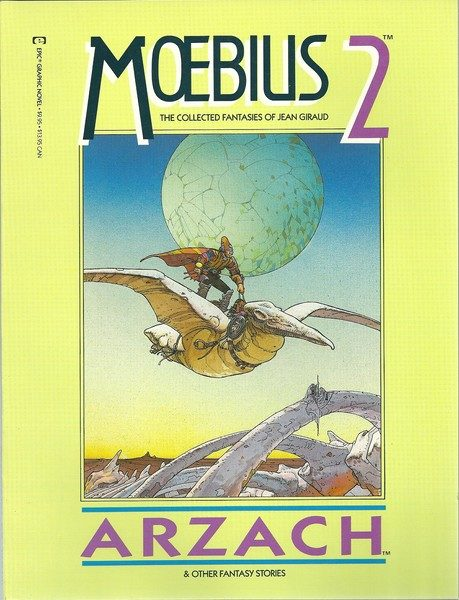 Moebius 2 Arzach The collected Fantasies of Jean Giraud-0